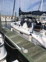 Hunter 29.5 sailboat in Norfolk, Virginia, U.S.A