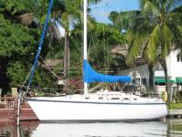 Hunter 34 sailboat in Fort Lauderdale, Florida-USA