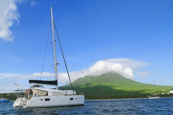 Lagoon 400 sailboat in Miami, Florida-USA